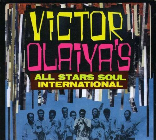 Cover VICTOR OLAIYA, all stars soul international