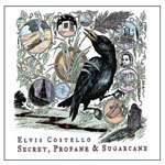 Cover ELVIS COSTELLO, secret, profane & sugarcane