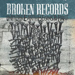 Cover BROKEN RECORDS, until the earth begins to part