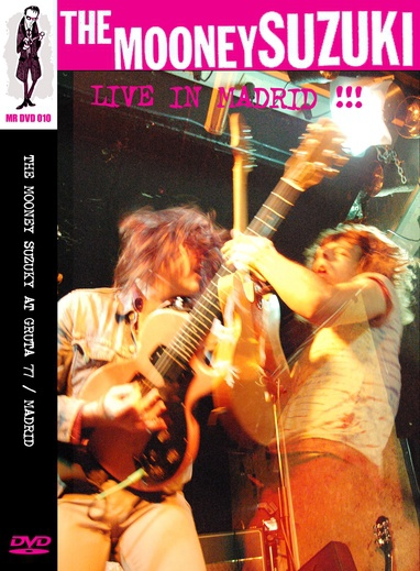 MOONEY SUZUKI, live in madrid cover