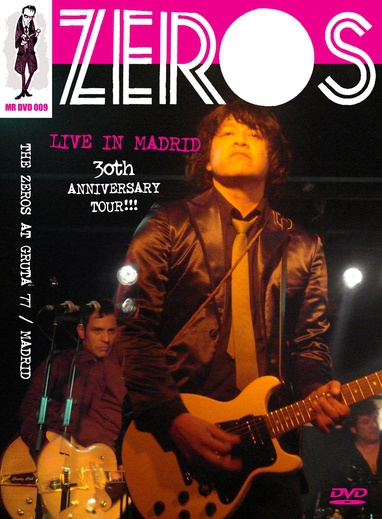 ZEROS, live in madrid - 30th anniversary cover