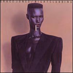 GRACE JONES, nightclubbing cover
