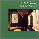 NICK DRAKE, five leaves left cover