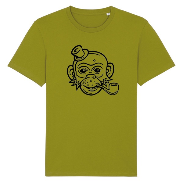 Cover DIRK BONSMA, monkey (boy), sport grey