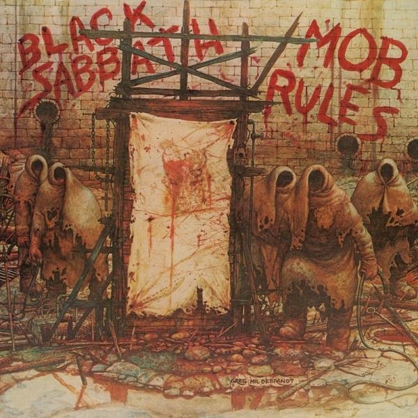 BLACK SABBATH, mob rules (deluxe) cover