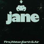 Cover JANE, fire, water, earth & air