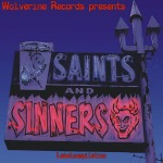 Cover V/A, saints & sinners (pappschuber)