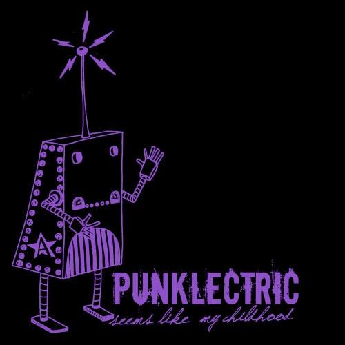 ZUM HEIMATHAFEN, punklectric (girl), black cover