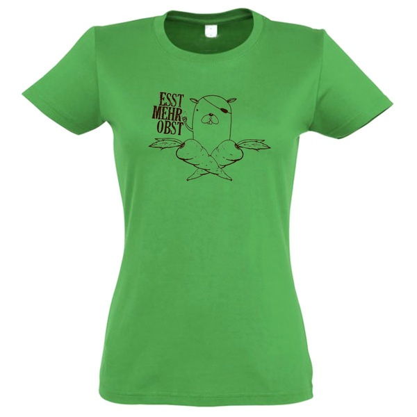 ZUM HEIMATHAFEN, esst mehr obst (girl), tropical green cover