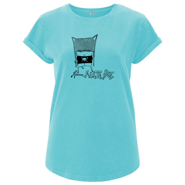 Cover ZUM HEIMATHAFEN, human nature (girl), red