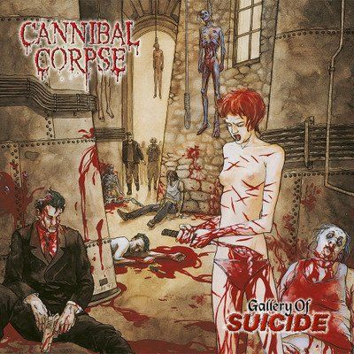 CANNIBAL CORPSE, gallery of suicide cover