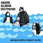 Cover MEINE KLEINE DEUTSCHE, before people forget sound