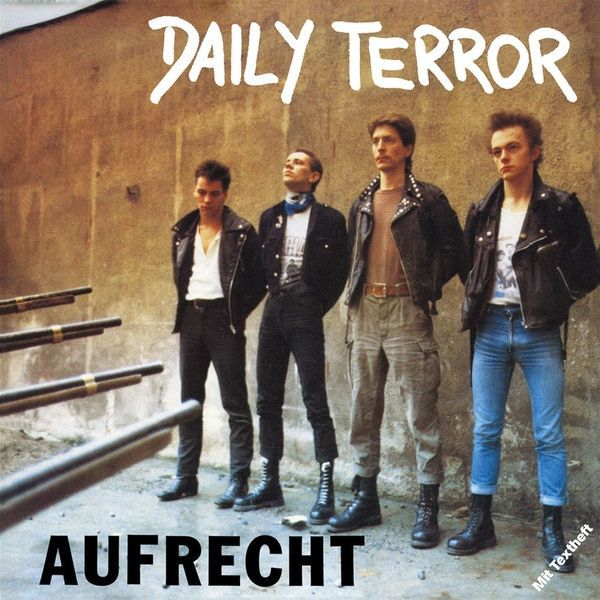 Cover DAILY TERROR, aufrecht