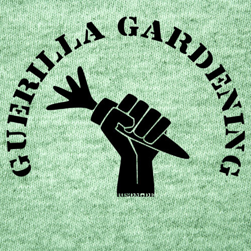 Cover RISOM, guerilla gardening (boy), mid heather green