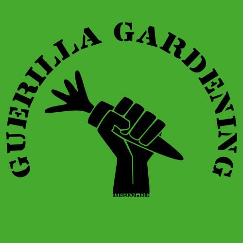 RISOM, guerilla gardening (girl), green cover