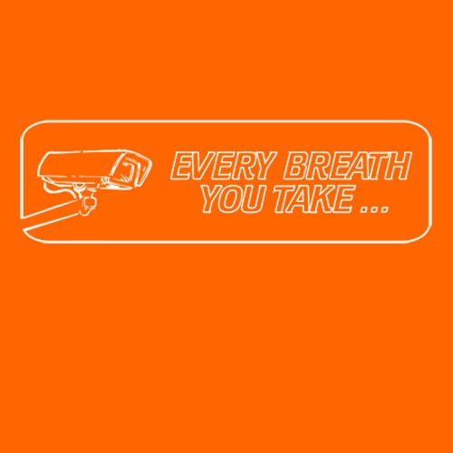 RISOM, every breath you take (girl), orange cover