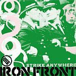 STRIKE ANYWHERE, iron front cover