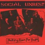 SOCIAL UNREST, making room for youth cover