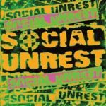 Cover SOCIAL UNREST, s/t (la muerte de rock)