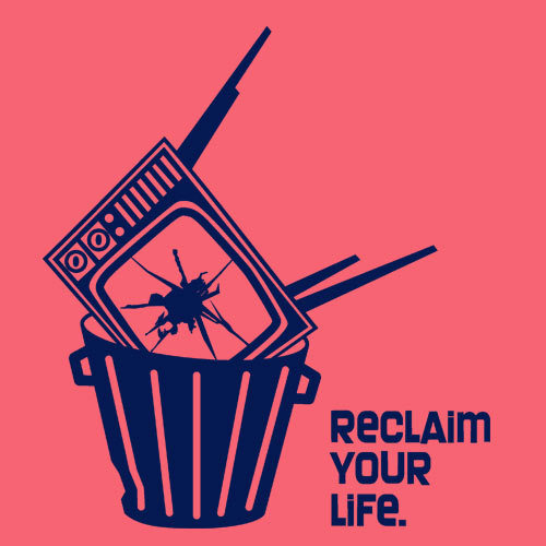 Cover RISOM, reclaim your life (girl), coral