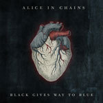 ALICE IN CHAINS, black gives way to blue cover