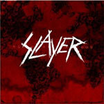 Cover SLAYER, world painted blood