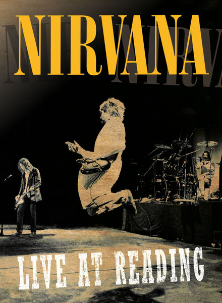 NIRVANA, live at reading cover