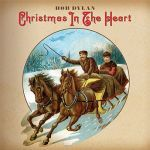 Cover BOB DYLAN, christmas in the heart