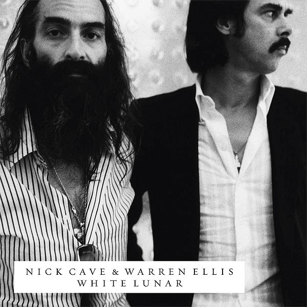 Cover NICK CAVE/WARREN ELLIS, white lunar