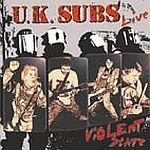 Cover UK SUBS, violent state