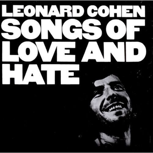 LEONARD COHEN, songs of love and hate cover