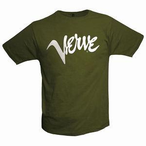 VERVE, logo_shirt_olive cover