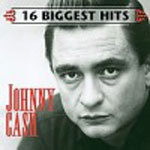 Cover JOHNNY CASH, 16 biggest hits