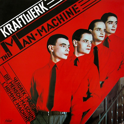 KRAFTWERK, man machine cover
