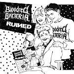 Cover BLOODRED BACTERIA/RUINED, split