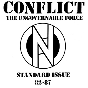 CONFLICT, standard issue 82-87 cover