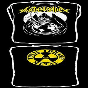 Cover TOXIC HOLOCAUST, reaper_black