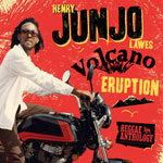 HENRY JUNJO LAWES, volcano eruption - reggae anthology cover
