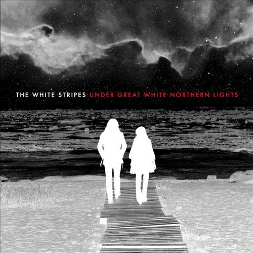 Cover WHITE STRIPES, under great white northern lights