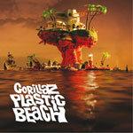 GORILLAZ, plastic beach cover