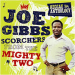 Cover JOE GIBBS, scorchers from the mighty two
