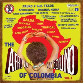 Cover V/A, afrosound of colombia