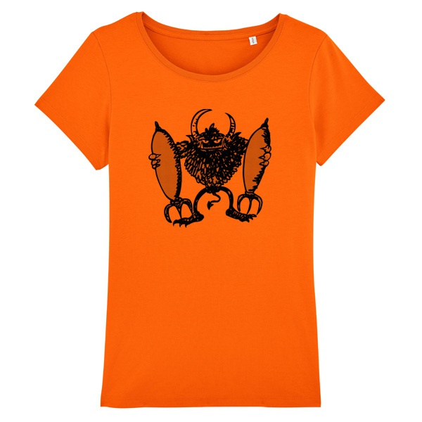 RAUTIE, rocket devil (girl), orange cover