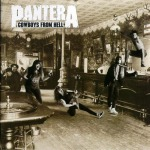 PANTERA, cowboys from hell cover