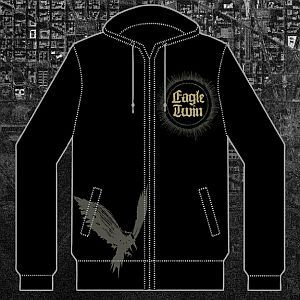 Cover EAGLE TWIN, hoodie_black_rvkapu