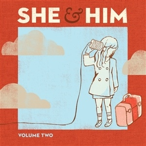 SHE & HIM, volume two cover