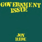 Cover GOVERNMENT ISSUE, joyride