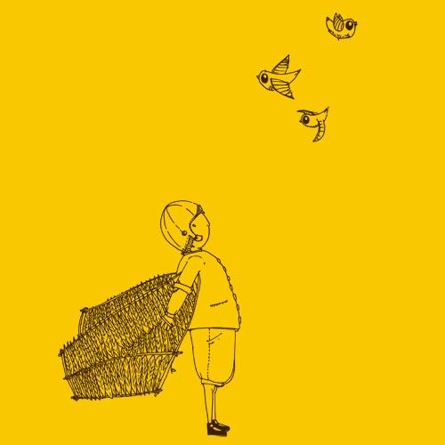 ZUM HEIMATHAFEN, birdshow (boy), gold cover