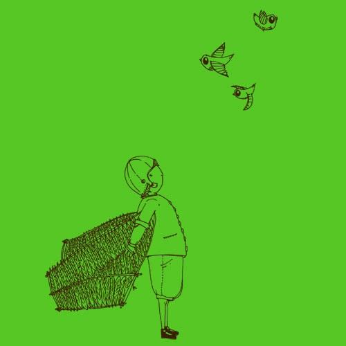 ZUM HEIMATHAFEN, birdshow (girl), green cover