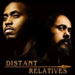 "Cover NAS & DAMIAN ""JR. GONG"" MARLEY, distant relatives"